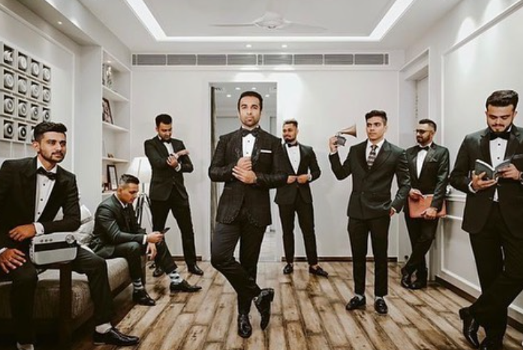 The Chilling Groomsmen and an inspiration for all