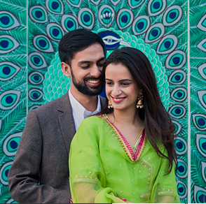 From a ghoomar dance to local cuisine, this wedding saw Tanvi and Arjun's guests enjoying Rajasthan's rich flavors and colorful festivities.