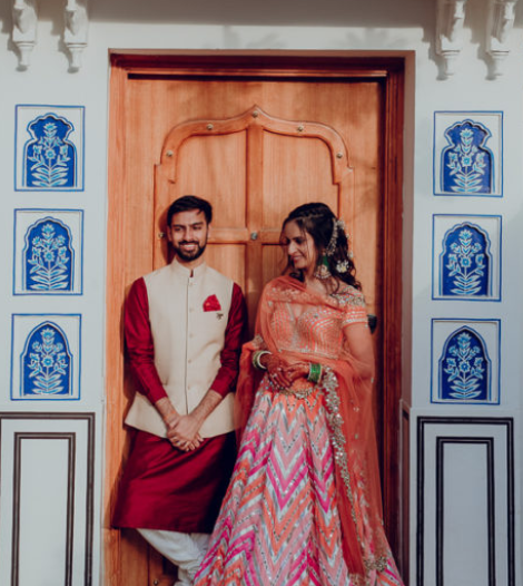 Colorful Yet Royal Wedding in JW Marriott Jaipur_Tanvi & Arjun