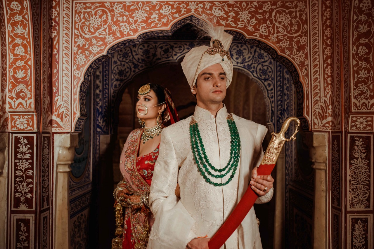 Kartik & Yasheka's Wedding In Samode Palace, Jaipur